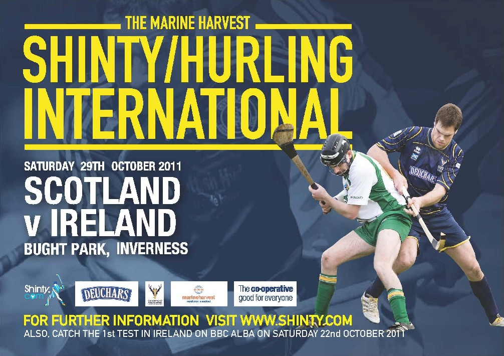 Scotland U21s Set For Shinty / Hurling Action.