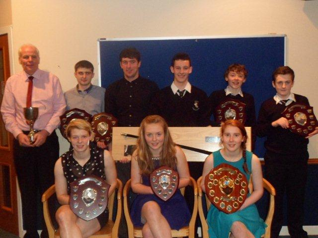 Skye Camanachd Second Team - 2013 Player of the Year Award