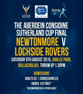 2015 Aberdein Sutherland Cup Final ………….. TODAY!