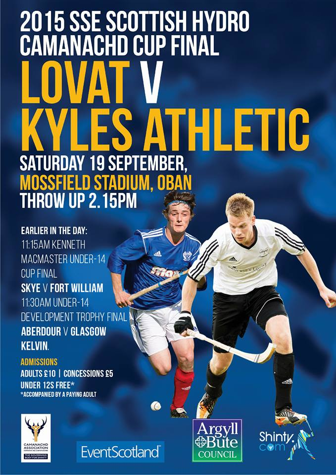 2015 SSE Scottish Hydro Camanachd Cup Final ………….. TODAY!