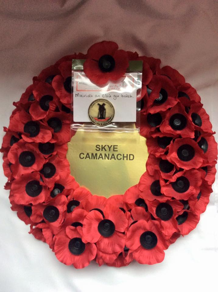 Skye Camanachd Remembers