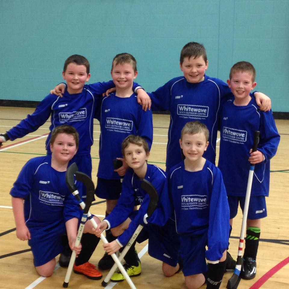 Young Shinty Talent On Show At 2016 Isle of Skye Primary Schools Camanachd Association Indoor Tournaments