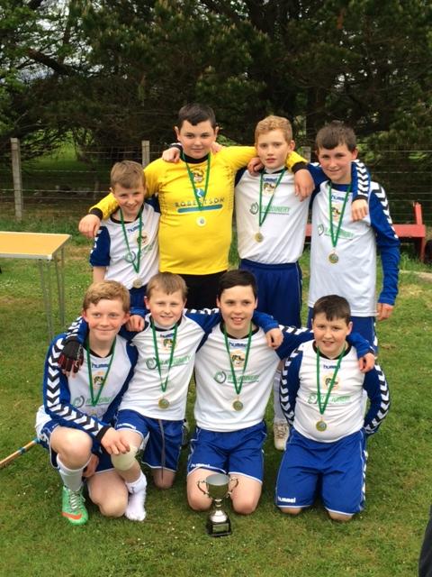 Portree Win 2016 Isle of Skye Primary Schools Camanachd Association Rotary Sixes