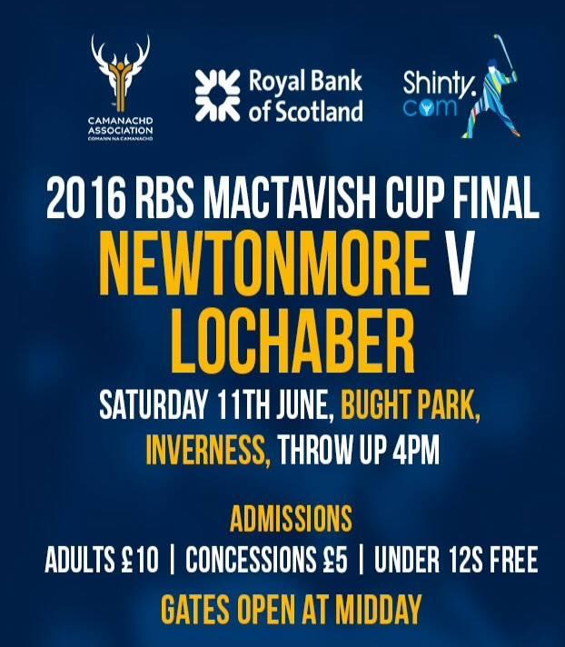 2016 RBS MacTavish Cup Final …………. TODAY!