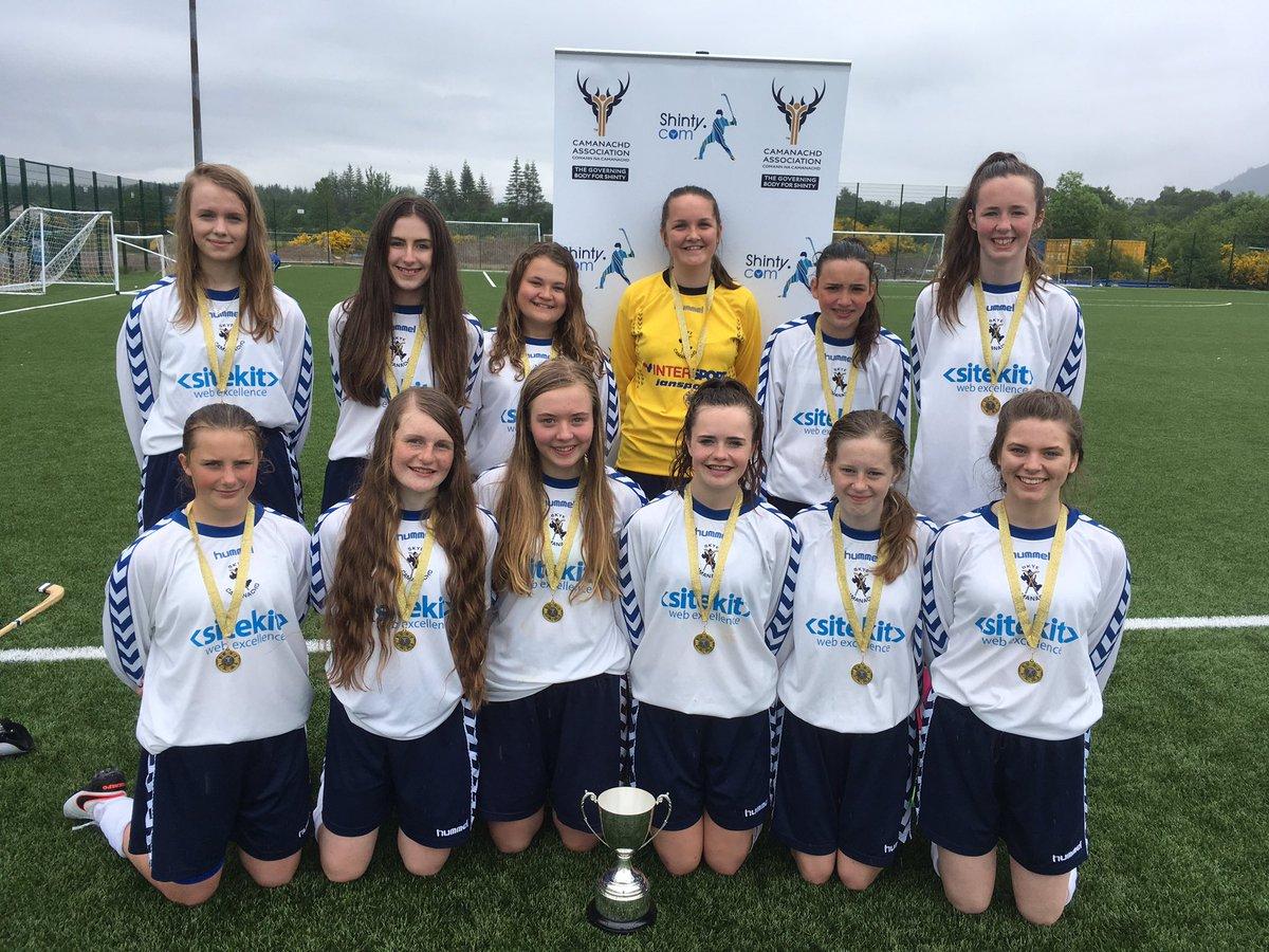 Portree High School Are Girls 2016 League Finals Winners