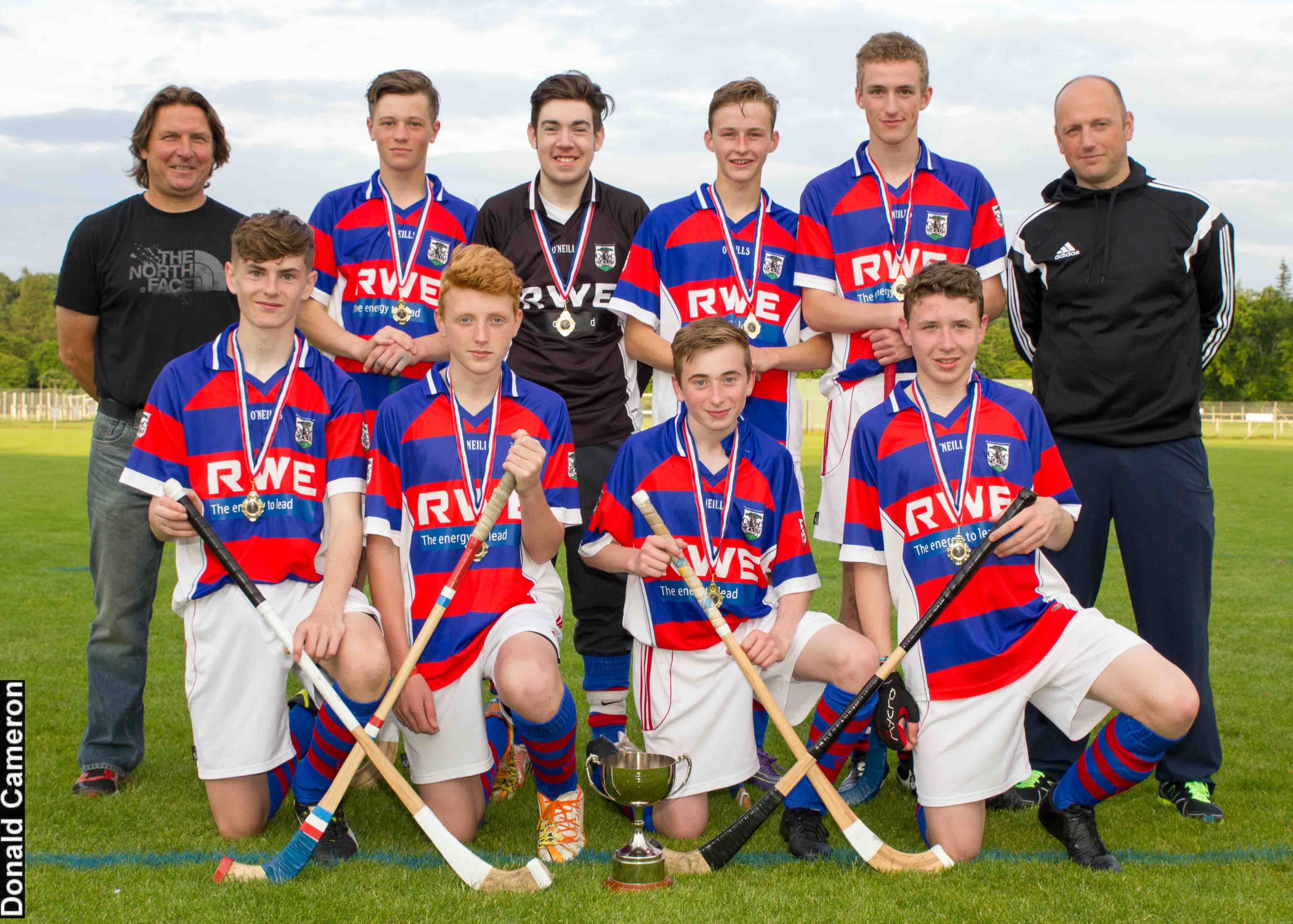Kingussie U17 Win 2016 Strathdearn Sixes