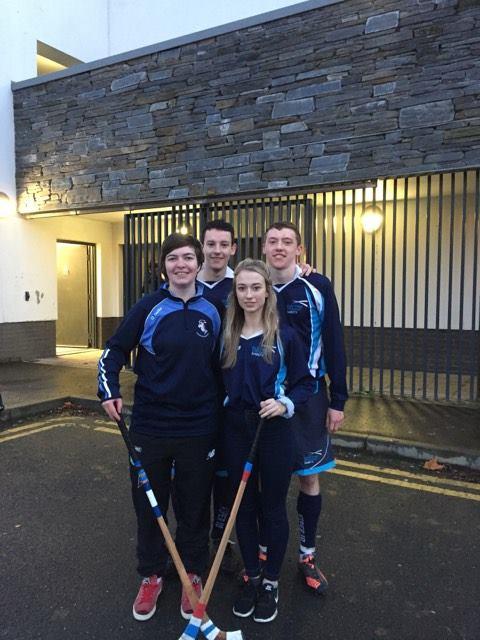 Skye Camanachd Quartet Star For Scotland Universities