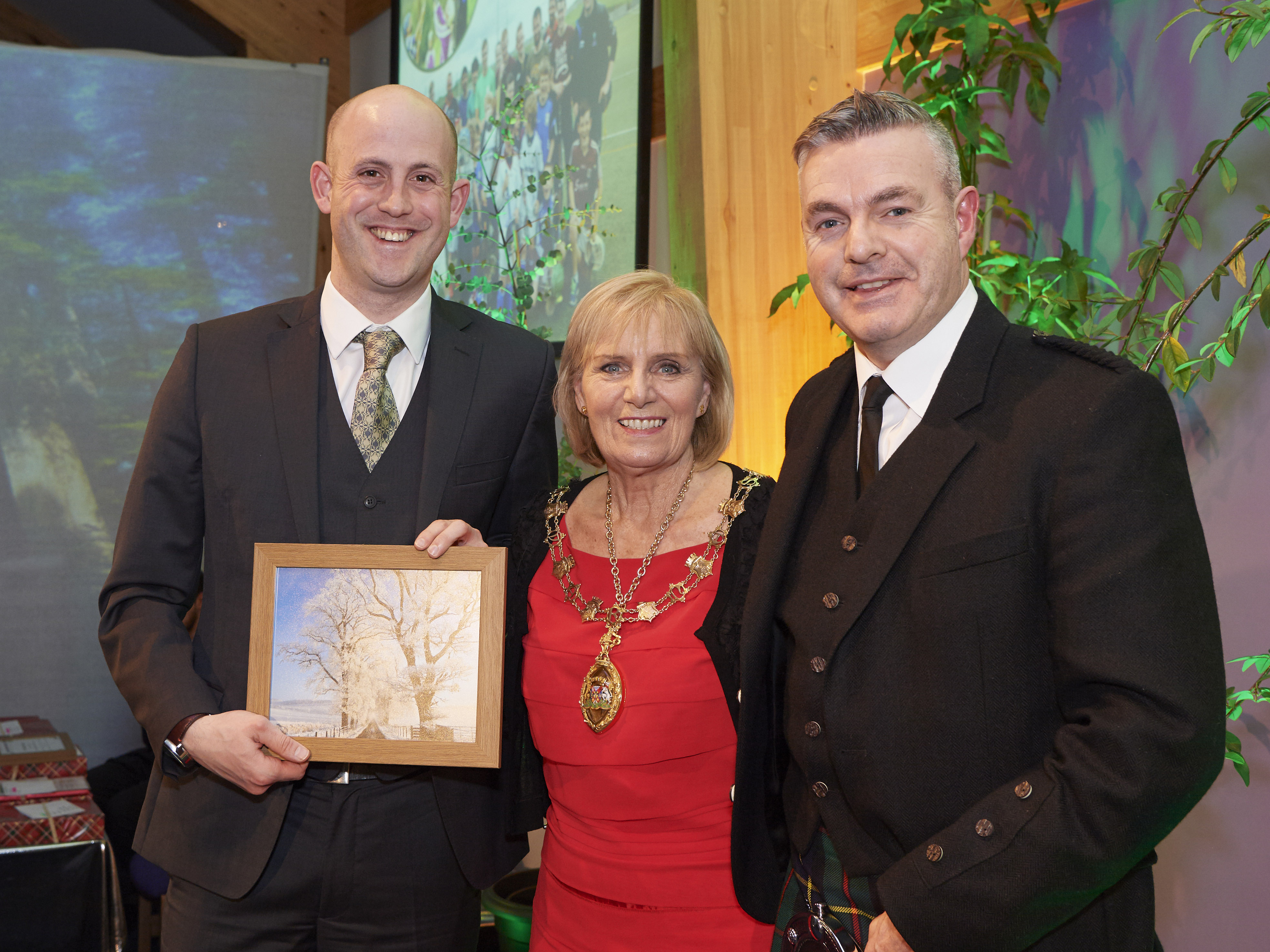 Eoghan Stewart & Iomain Cholmcille Recognised By Highland Council
