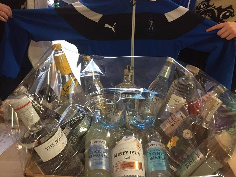 Skye Camanachd Ladies Gin Raffle